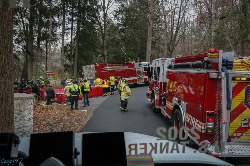 Mutual Aid Tanker Drill, Croton On Hudson Fire District